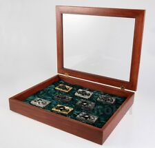 ORIGINAL ROLLEI COLLECTION DISPLAY BOX FOR 8 ROLLEI 35 CAMERAS // VERY RARE //