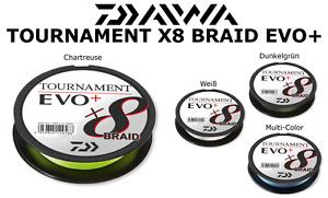 DAIWA TOURNAMENT X8 BRAID EVO+ / Alle Farben und Durchmesser / NEU 2021