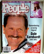 People Weekly Magazine - March 2001 - Dale Earnhardt - Remembering a Legend