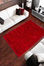 Tappeti rosso in poliestere per la casa