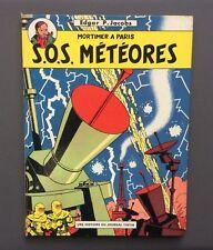 Les aventures de Blake et Mortimer. Mortimer à Paris. Sos Météores. Lombard 1968