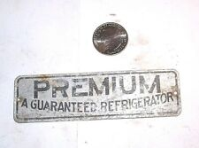 "Antique Ice Box Refrigerator "" PREMIUM A GUARANTEED REFRIGERATOR """