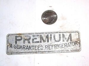 "Antique Ice Box Refrigerator "" PREMIUM A GUARANTEED REFRIGERATOR """