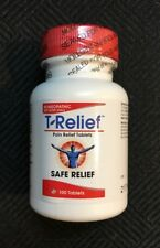 T-Relief by MediNatura Replaces Heel Traumeel New Sealed Homeopathic 100 Tablets