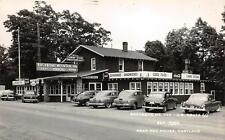 RPPC BACKBONE MOUNTAIN INN Red House, Maryland US 50 Roadside ca 1950s Postcard