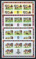 GHANA Nr.564-567B ** KLEINBOGEN FUSSBALL-WM 1974 ME 90,-++ !!! (129433)