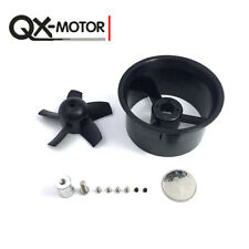 Without Motor QX-MOTOR 64mm Ducted Shell Fan Barrel EDF 5 blades for RC Drone
