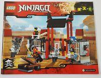 ~~LEGO NINJAGO 70591 - INSTRUCTION MANUAL ONLY
