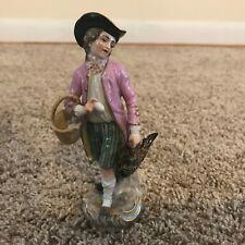 Meissen Cris de Paris Poultry Seller Porcelain Figurine