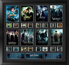 Film Cell Genuine 35mm Framed & Matted Harry Potter 1-7 Finale Montage USFC5743