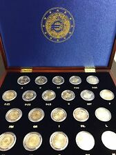 21 X 2 EUROS CONMEMORATIVOS 10º ANIV. DEL EURO (TYE) 2012 - EN ESTUCHE