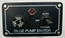 BILGE PUMP SWITCH OFF-MANUAL-AUTO WITH FUSE