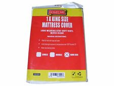 1 x WATERPROOF PROTECTIVE KING SIZE MATTRESS COVER PROTECTOR PVC Wetting