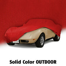 1968-1982 Corvette C3 Outdoor All Weather RED Car Cover w Bag 620079