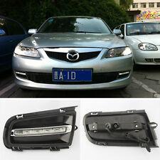 New LED DRL Driving Daytime Running Day Fog Lamp Light For Mazda 6 2006-2010