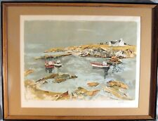 Luis Vuillermoz Signed & Numbered Framed Print