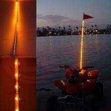 5' Foot Yellow Color LED Light Whip Lighted  ATV UTV Off-Road Sand Rail