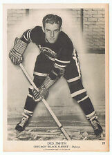 1939-40 O-Pee-Chee V301-1 #77 Des Smith Chicago Blackhawks (5 x 7 card) NearMint
