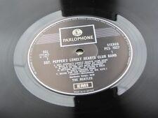Los Beatles Sgt Peppers Lp Reino Unido 1971 7027 PC Caja presionando un E.m.i.