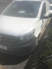 MERCEDES VITO Compact 109 CDI W447 White Diesel, 2015 NO VAT damaged repaired
