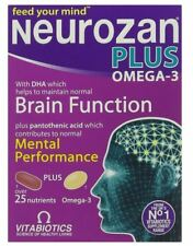Vitabiotics Neurozan Plus Tablets 56 Capsules
