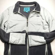 Girls Large 14-16 Skechers Blue Grey Fleece Jacket Coat