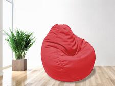 Red Tear Drop Water Resistant Bean Bag