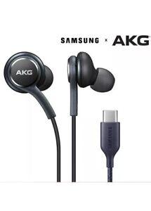 GENUINE SAMSUNG USB TYPE C AKG EARPHONES HEADPHONES FOR GALAXY S20, Note 10, 10+