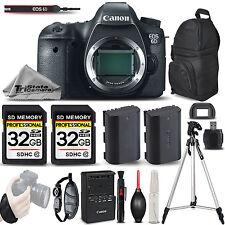 Canon EOS 6D Digital Camera. 64GB STORAGE + EXT BATT + TRIPOD + BACKPACK & MORE