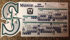Seattle Mariners 1995 Magnet Fridge Schedule Opening Day Give Away
