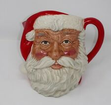 Royal Doulton Tableware Character Toby Jug Mug Santa Claus D6704 Signed