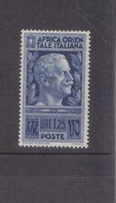 ITALIAN EAST AFRICA-1938-1 L. 25c BLUE -MNH-SG 13-$5-freepost