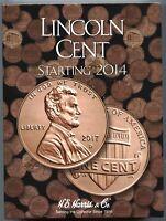 Coin Folder - Lincoln Cent Starting 2014 Penny Set - Harris Album 4002 Pennies