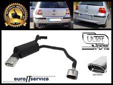 SILENCIEUX POT D'ECHAPPEMENT VW GOLF IV 1997-2001 2002 2003 2004 TIP 145x75