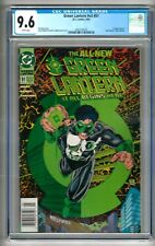 """Green Lantern #v3 #51 (1994) CGC 9.6  White Pages """"NEWSSTAND"""" Variant  Book """"B"""""""