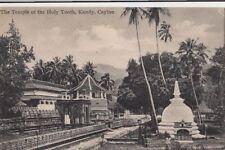 Postcard The Temple of Holy Tooth Kandy Ceylon Sri Lanka