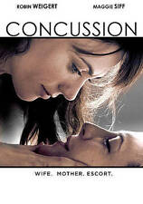 Concussion (DVD, 2014) Robin Weigert Maggie Siff FREE SHIPPING