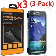 3-Pack Premium Tempered Glass Screen Protector Film for Samsung Galaxy S5 Active