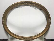 """VTG. Gold Gilt Art Nouveau Art Deco Victorian Wood Picture Frame Fits 22""""x 28"""""""