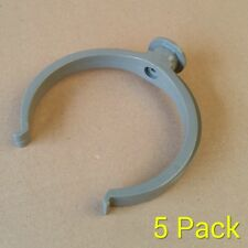 110mm Pipe clip / bracket / soil pipe koi pond drainage clips  - Pack of 5