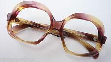 Kultige Hippiebrille XXL Glasform extravagant Vintagefassung Acetatgestell sizeM
