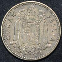 1953 (54)   Spain Peseta   Coins   KM Coins