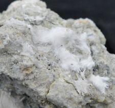 Picropharmacolite - Micromount - Sainte Marie Aux Mines, Alsace, France