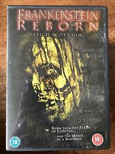 Rhett Giles FRANKENSTEIN REBORN ~ 2004 MARY SHELLEY Día Moderno Horror GB DVD