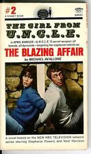 THE BLAZING AFFAIR by Avallone rare US Signet spy gga Girl From UNCLE vintage pb
