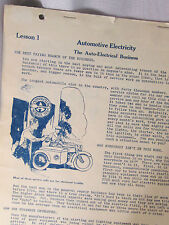 1924 L L Cooke Ford Factory Automotive Electrical Systems Manuals Auto Electric