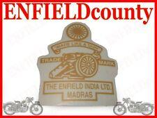 NEUF ROYAL ENFIELD India Ltd Madras Stickers Golden Set @UK