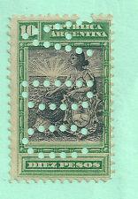 ARGENTINA 1899-1903 Y&T 129 NUEVO SIN GOMA -PERFORADO-