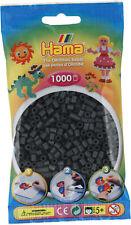 Hama 1000 Midi Bügelperlen 207-71 Dunkelgrau Ø 5 mm Perlen Steckperlen Beads