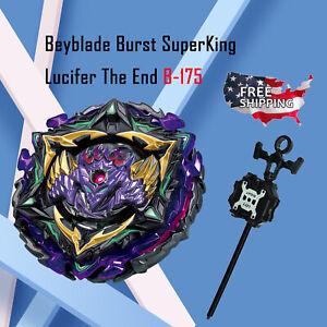Lucifer The End Kou Drift B-175 Beyblade Burst Superking Starter Set US Seller!